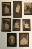 (8) Antique Photographs--Children