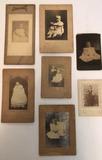 (7) Antique Photographs--Children