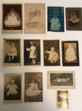 (12) Antique Photographs--Children