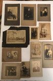 (12) Antique Photographs