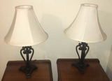 (2) Table Lamps--18 3/4