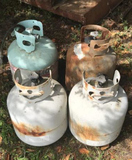 (4) Gas Propane Bottles