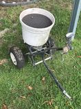 Small Earthway 2-Wheel Pull Spreader