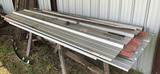 Assorted Sizes of Miscellaneous Roofing Metal &