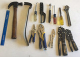 Assorted Hand Tools: Vice Grip Pliers
