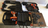 (2) B&D Battery Operated Drills in Box