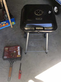 Express Charcoal Grill on Wheels &