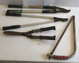 Assorted Garden Tools: (2) Limb Loppers, Hedge