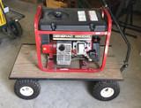 Generac 3500 Watt Generator - Gas Operated,