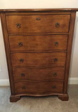 Serpentine-Front Chest of Drawers
