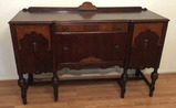 Depression Era Buffet with Turned Legs,