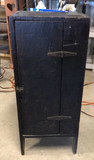 Primitive Storage Cabinet with Mounted Pencil