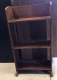 Small Wooden 3-Shelf Bookcase,