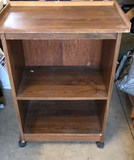 Television/Microwave Cart on Casters,