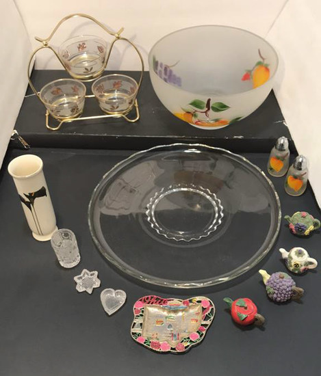 Assorted Glassware and Knick Knacks