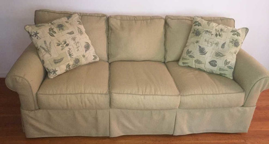 "Upholstered Sofa—Rowe Furniture Co., 71"" Long"