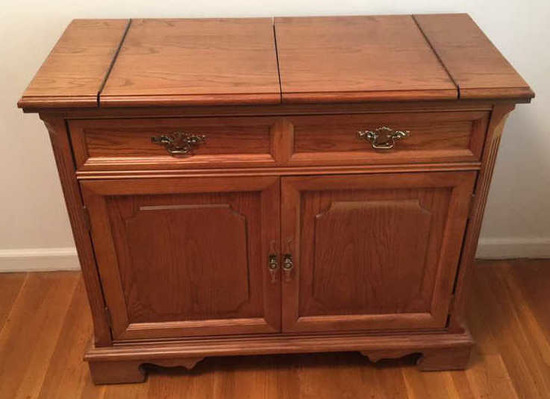 "Server by Bassett Furniture Company--40"" x 18"","