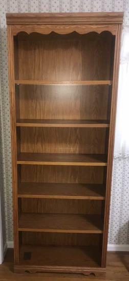 "Bookcase--32"" x 12 1/2"", 84"" High"