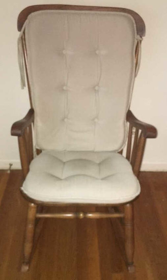 Rocking Chair with Cushion
