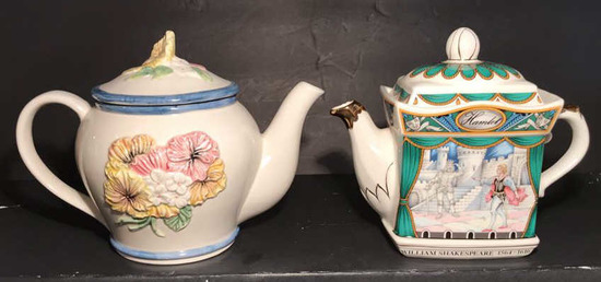 (2) Collectible Teapots including (1) Sadler