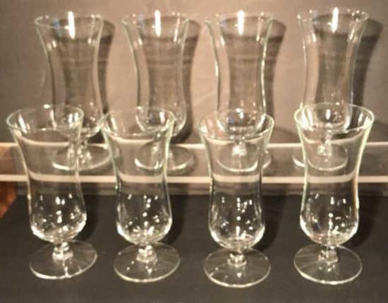 (8) Crystal Parfait Glasses