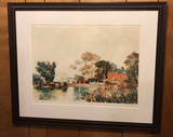 Framed & Matted Limited Edition Lithograph by
