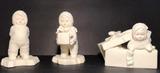 (3) Department 56 Snowbabies Figurines:  2-Piece