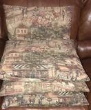 (4) Decorative Pillows