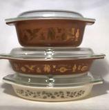 (3) Pieces of Vintage Pyrex