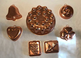 (7) Copper Molds