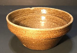 """8 1/2"""" Vintage Round Mixing Bowl (chipped)"""