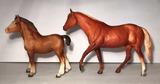 (2) Breyer Horses