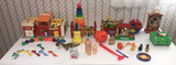 Assorted Vintage Toys Including Fisher Price and