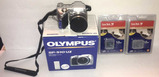 Olympus 510 UZ Digital Camera NIB & (2) 1.0 GB