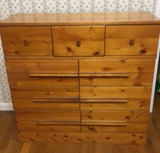 Vintage Pine Chest of Drawers--36