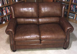 Leather Loveseat by Encore Home Design