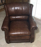 Leather Chair by Encore Home Design