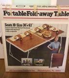 Portable Fold-Away Table