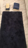 Bathroom Rug and Assorted Towels & Hand Towels