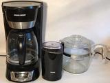 Black & Decker Coffee Maker,  Krups Coffee Bean