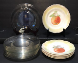 """(6) Limoges 7 1/4"""" Plates and (9) 8"""