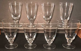 (8) Stems of Crystal Stemware--Juice