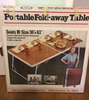 Portable Fold-Away Table