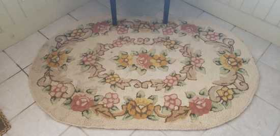 "Oval Rug:""Queen Anne Rust"" by Capel Rugs"