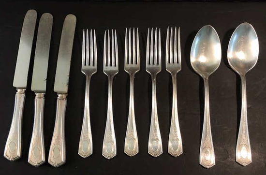 Oneida Community Louis XVI 1911 Silver Plate