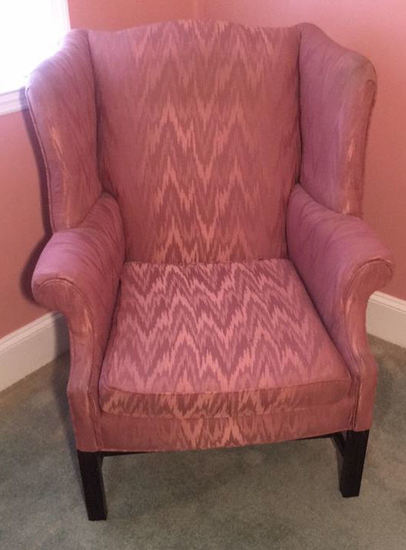 Chippendale-Style Wing Chair