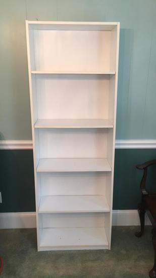 """Bookcase - 25"""" x 9 1/2"""", 71 1/2"""" H"""
