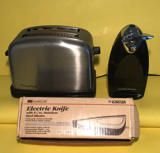 (3) Small Kitchen Appliances:  Russell Hobbs