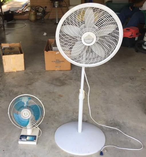 Lasko Pedestal Oscillatiing Fan, Panasonic