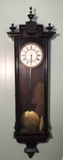 Antique Joh Maklang (Vienna) Wall Clock --